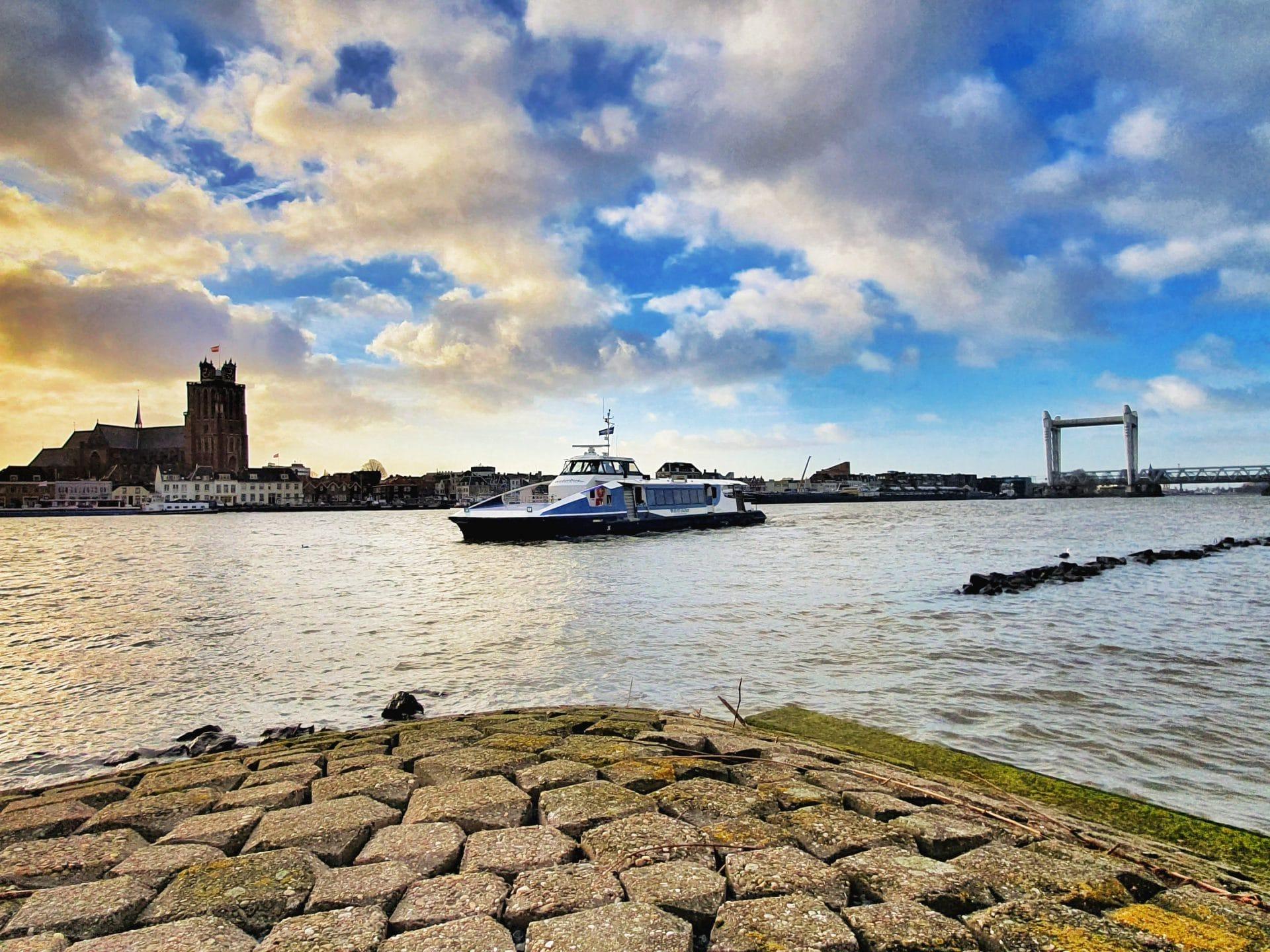 Bereikbaarheid Dordrecht - zicht op Dordrecht