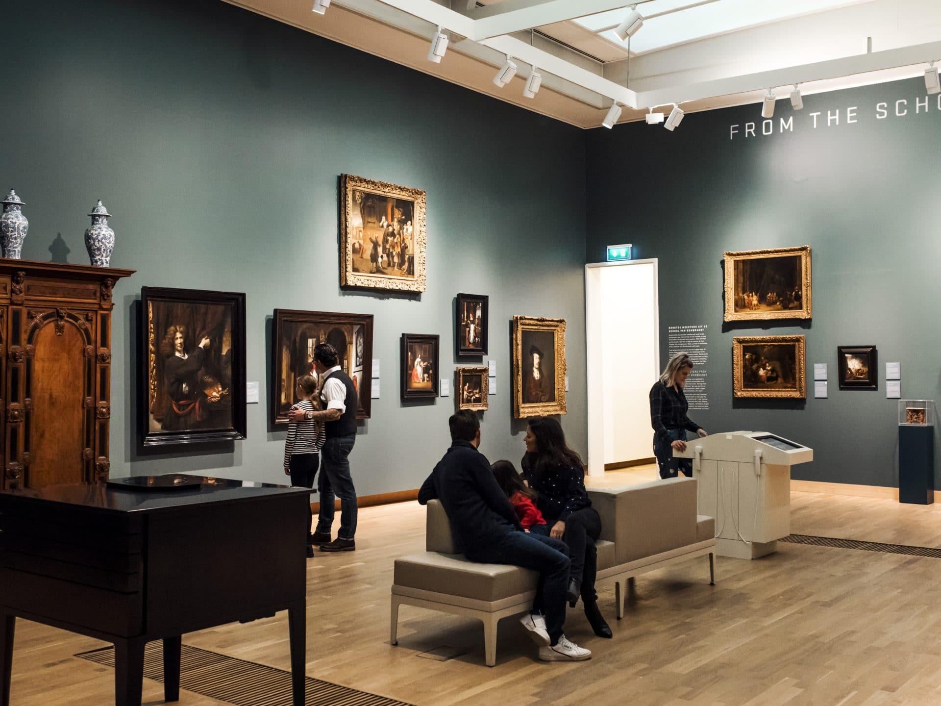 Blauwe zaal Dordrechts Museum, kunst & cultuur, musea Dordrecht