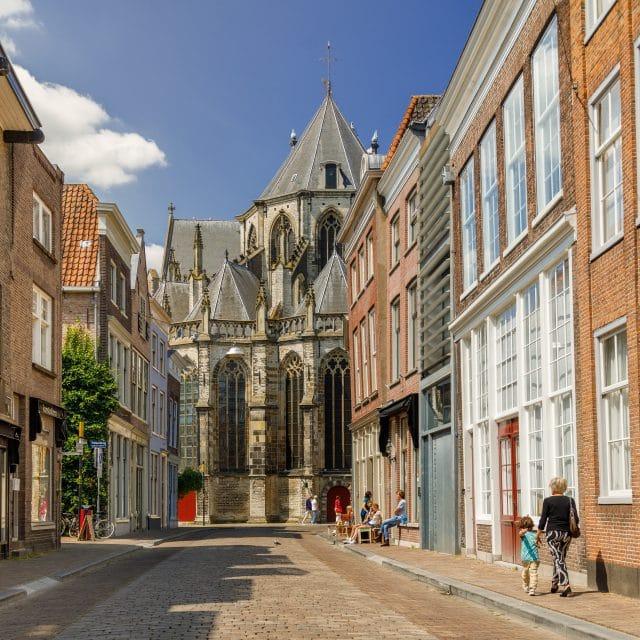 Grotekerksbuurt Grote Kerk Dordrecht