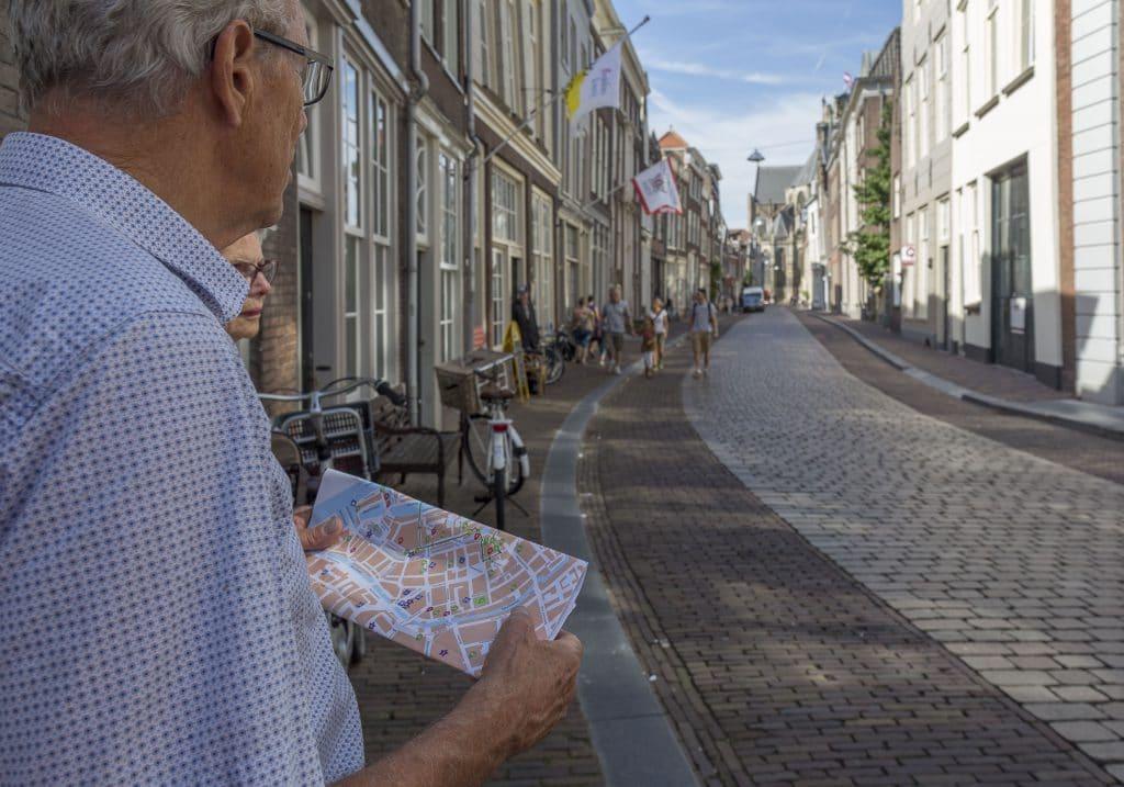 Dordrecht - toeristen - plattegrond
