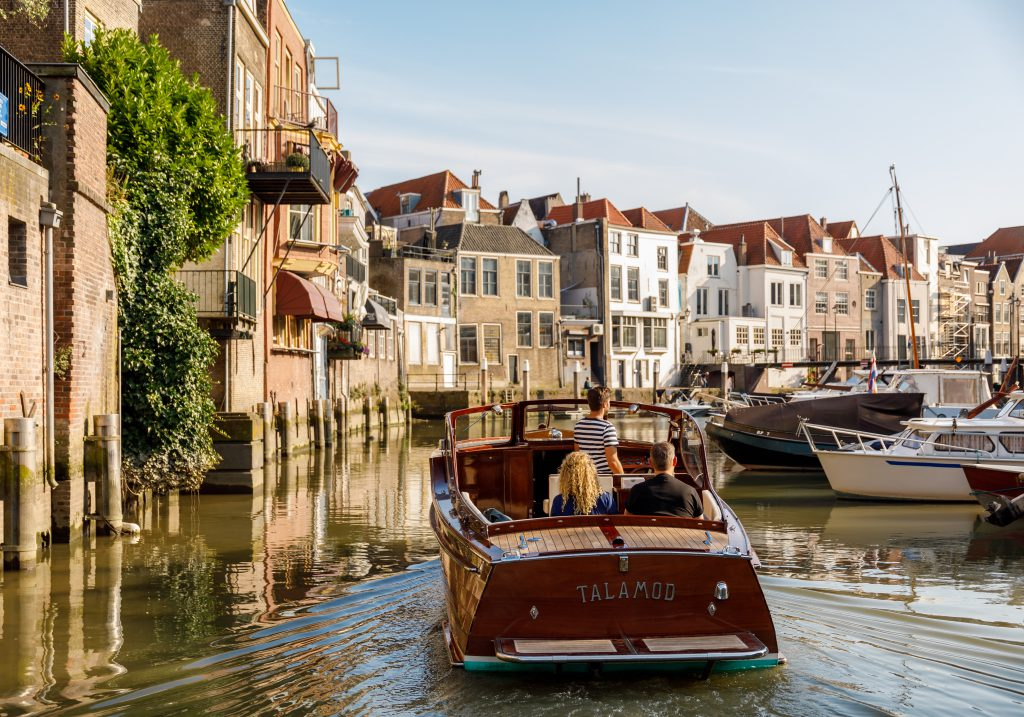 Rondvaart Barone havens Wijnhaven Dordrecht