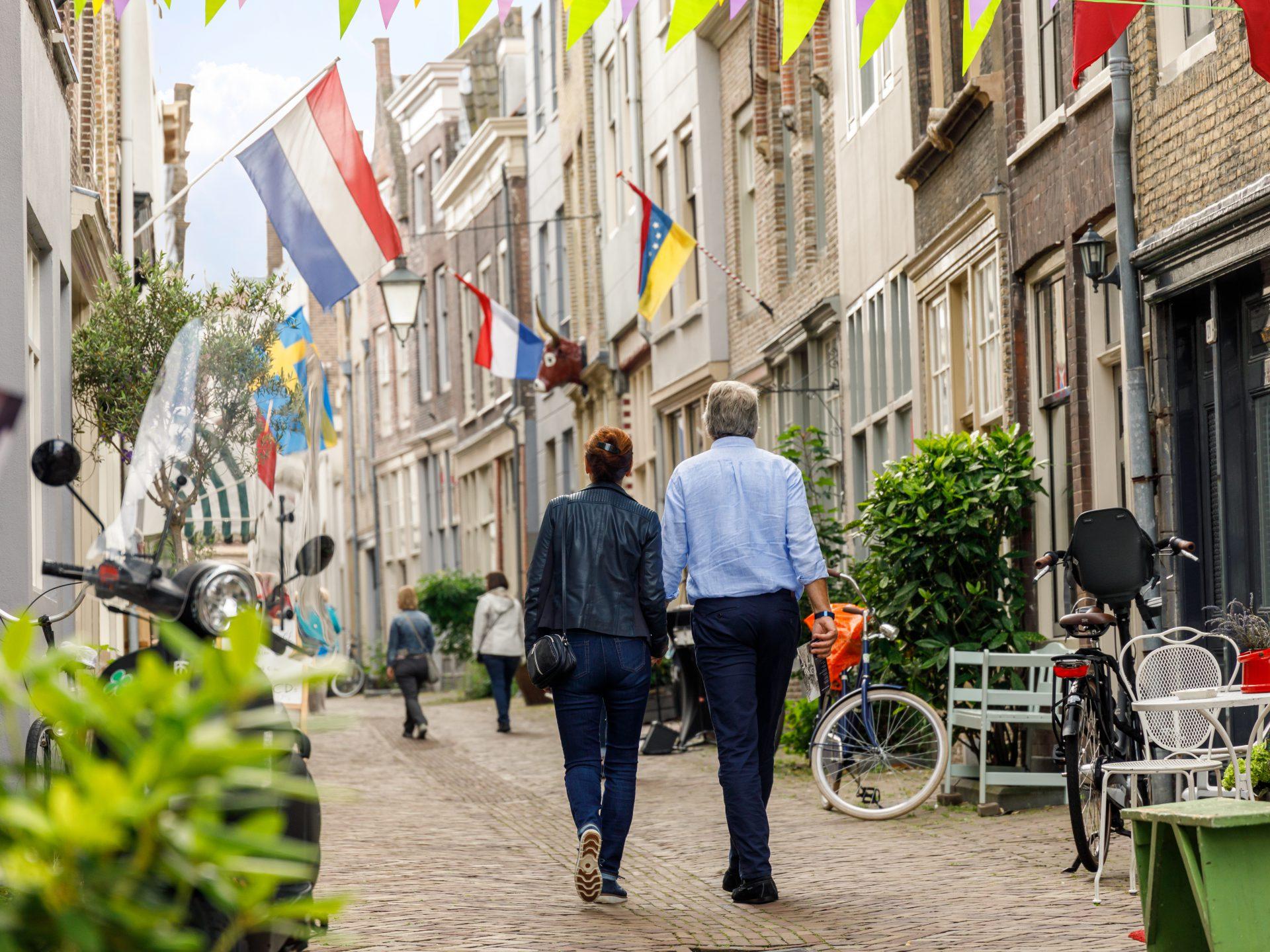 Winkelen in de historische binnenstad van Dordrecht