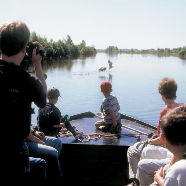 Nationaal Park De Biesbosch rondvaart kinderen familie Dordrecht