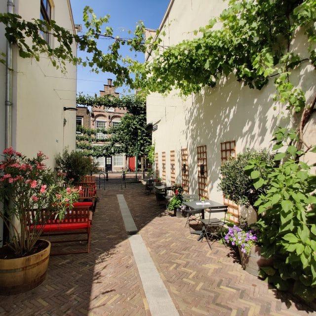 Bistro La Bohème - Dordrecht - Steegoversloot - terras - restaurant