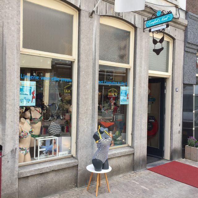 Comfort & Kant - Dordrecht - Voorstraat- lingerie - ondermode - badmode