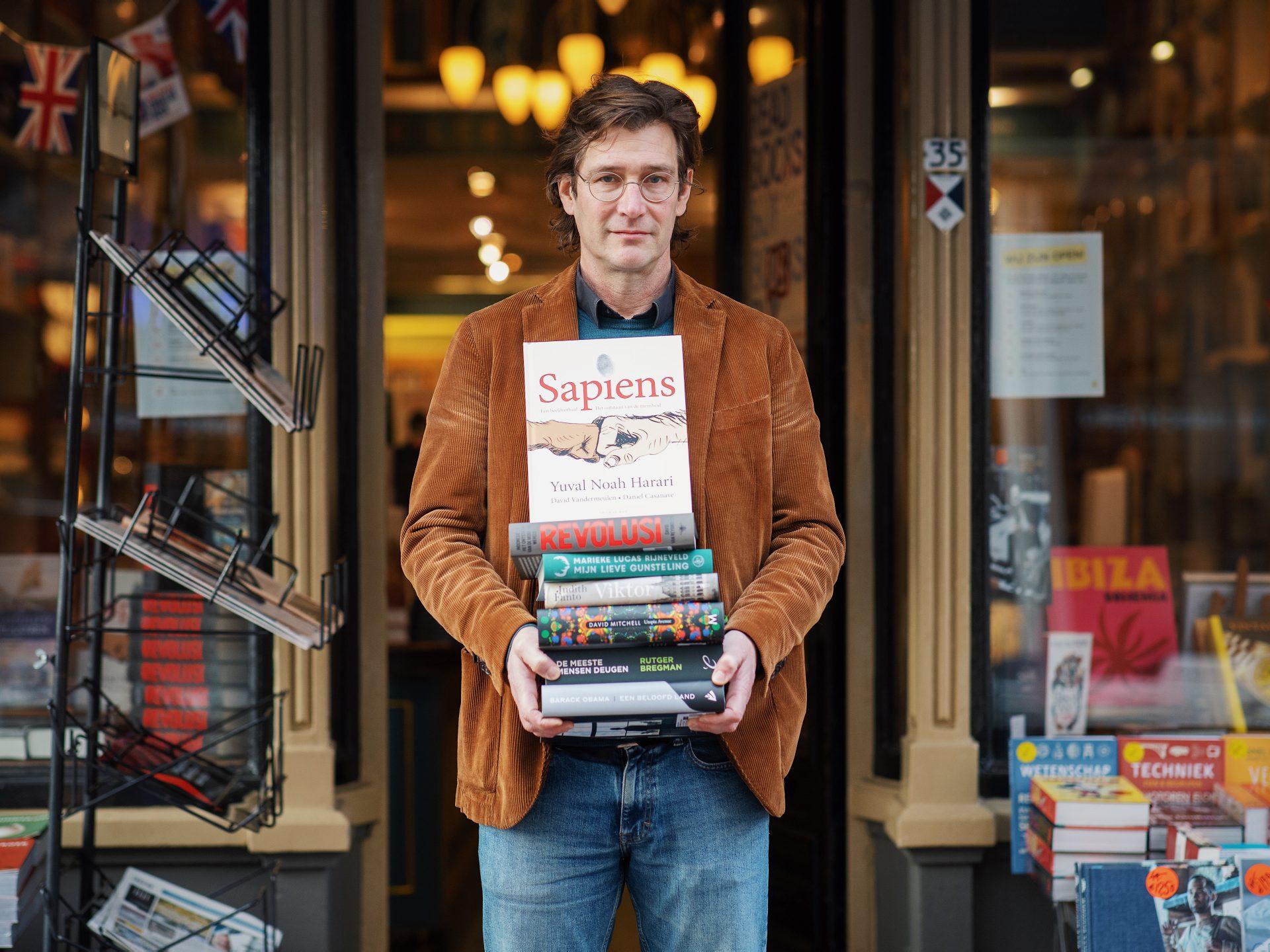 Boekhandel De Nieuwe Bengel - Dordrecht - Vriesestraat - boeken