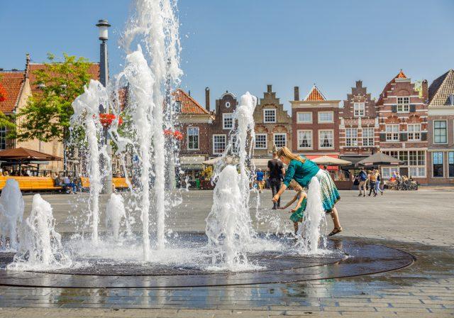 Statenplein fontein Dordrecht