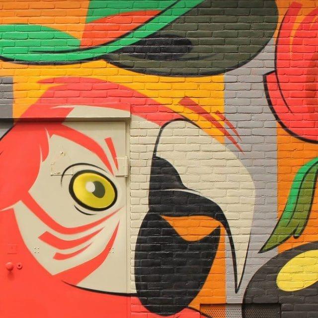Street Art tour wandeling Dordrecht