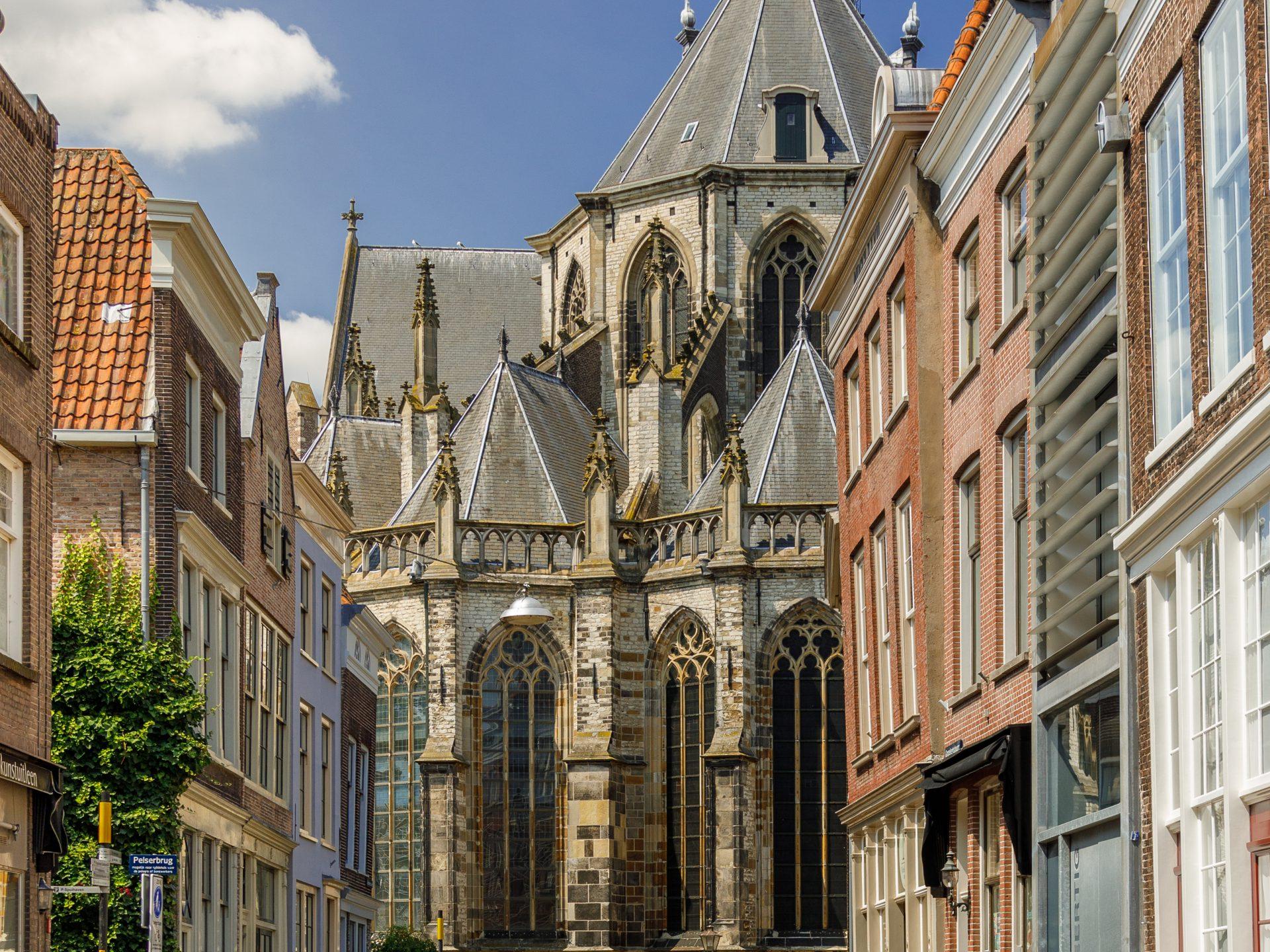 Grote Kerk Grotekerksbuurt monumenten Dordrecht