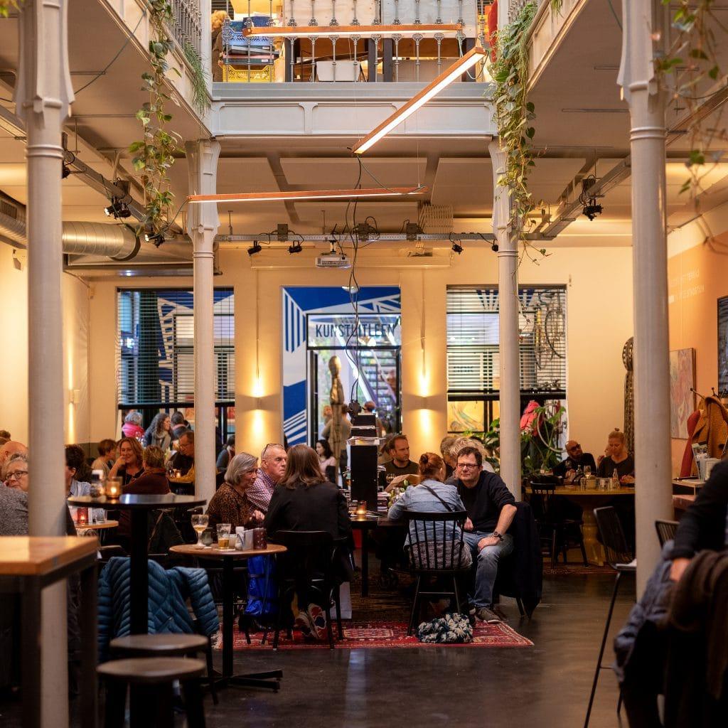 Voorstraat Noord restaurant Het Magazijn Dordrecht