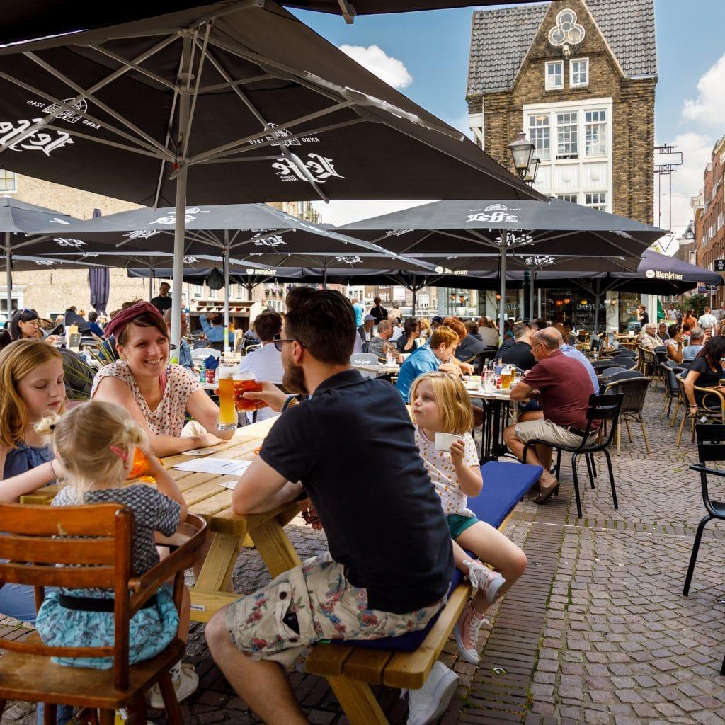 Scheffersplein -Dordrecht - terras