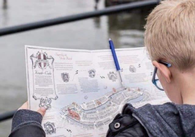 Kraek den Code kinderen wandeling centrum Dordrecht