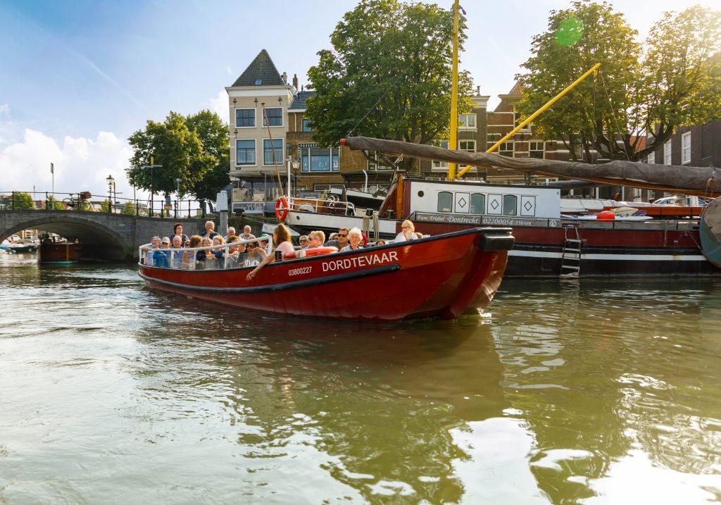 Dordtevaar rondvaart Roobrug Wolwevershaven 't Vlak Dordrecht