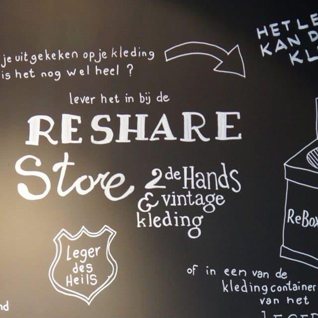 Reshare Store - Dordrecht - Voorstraat - tweedehands - kleding - vintage