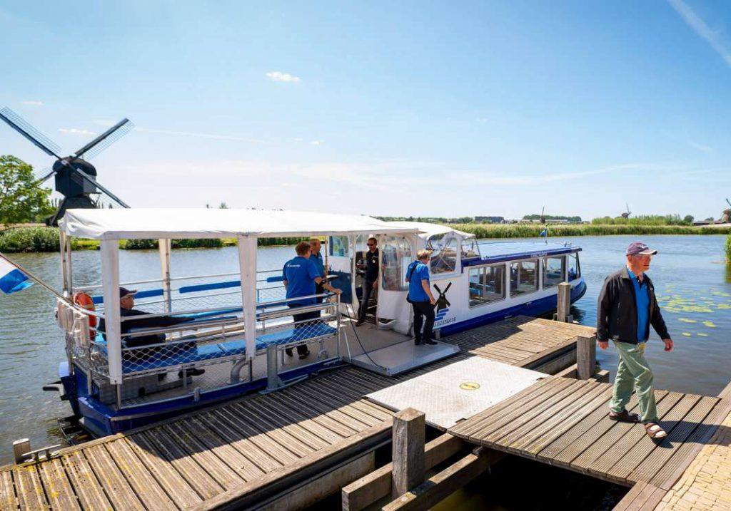 Werelderfgoed Kinderdijk - varen