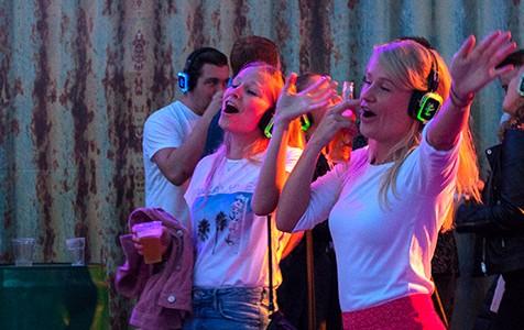 UITagenda evenementen silent disco Dordrecht