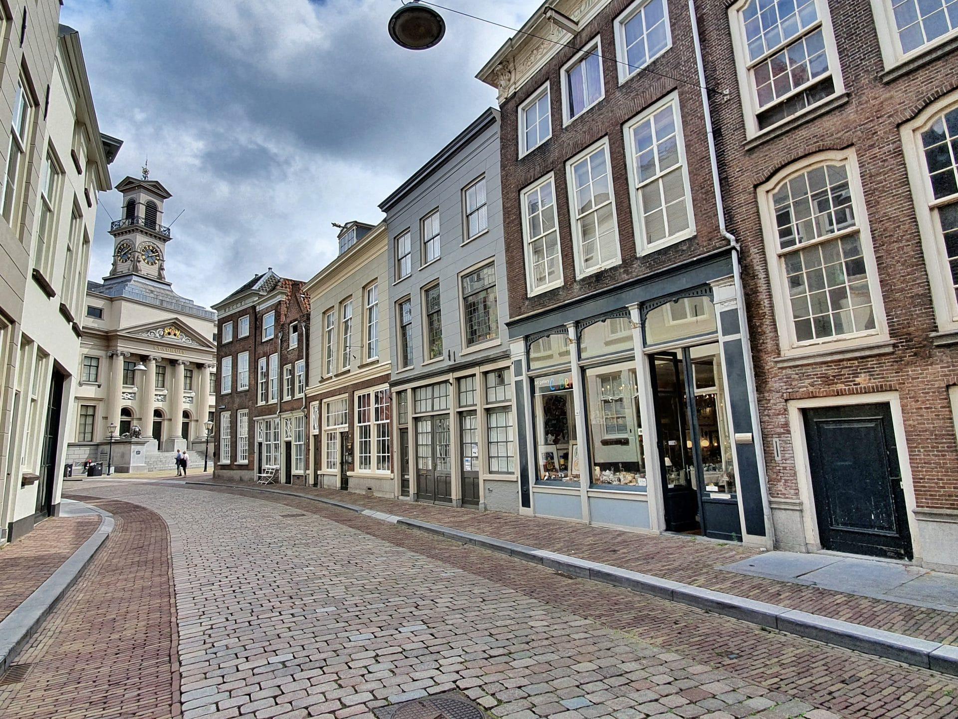 Grotekerksbuurt Stadhuis monumenten Dordrecht