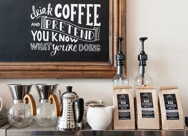 De Stadsbranderij - Dordrecht - Vriesestraat - koffie en koffiebonen
