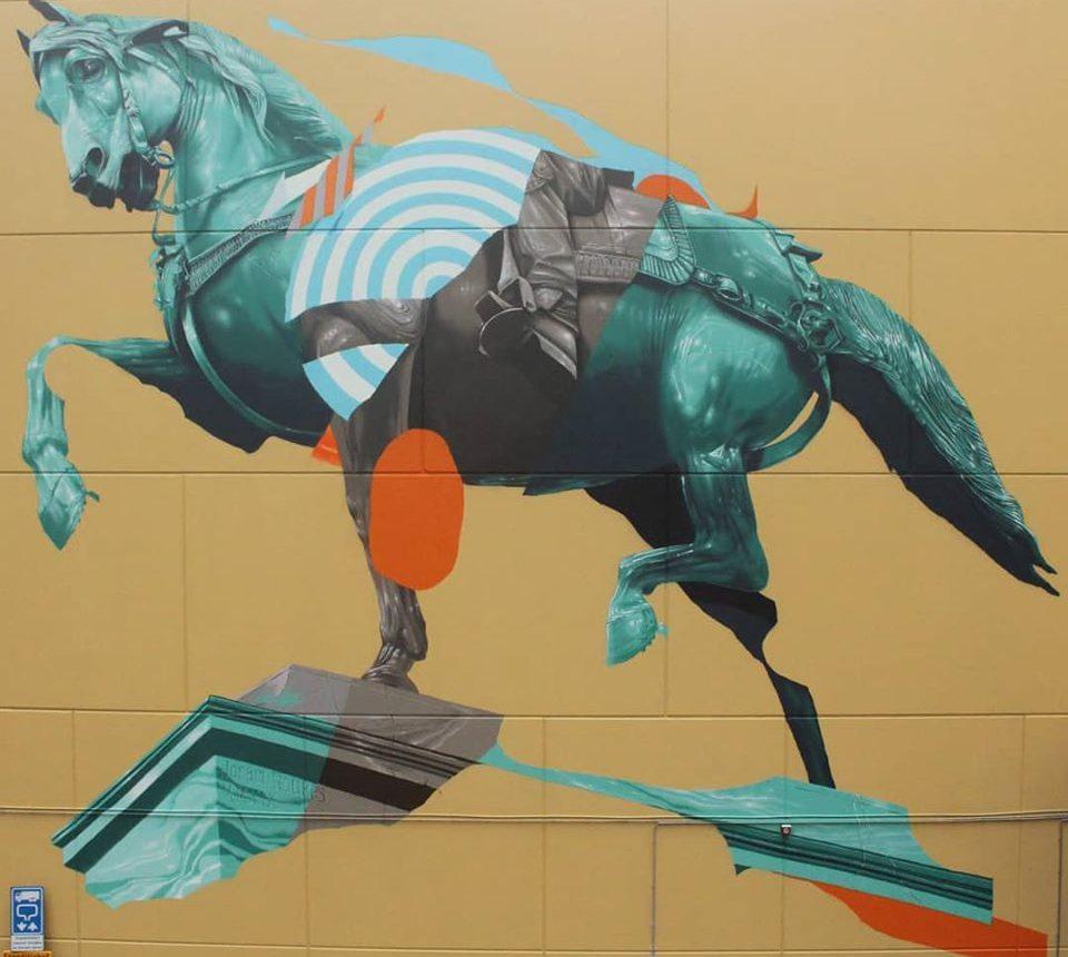 Straatkunst - mural - Joram Roukes