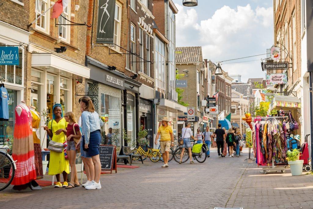 Winkelen Vriesestraat Dordrecht