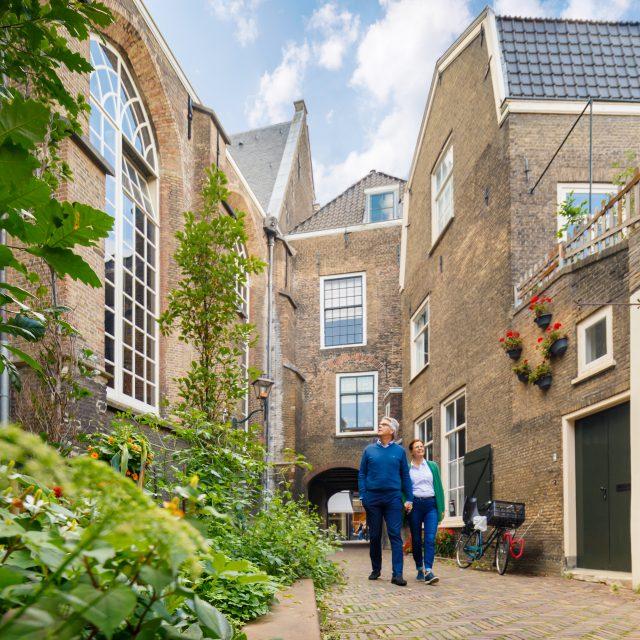 Stadswandeling Hof van Nederland Augustijnenkerk Dordrecht