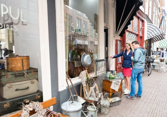 Winkelen Dordrecht Stoer Spul Voorstraat midden augustijn