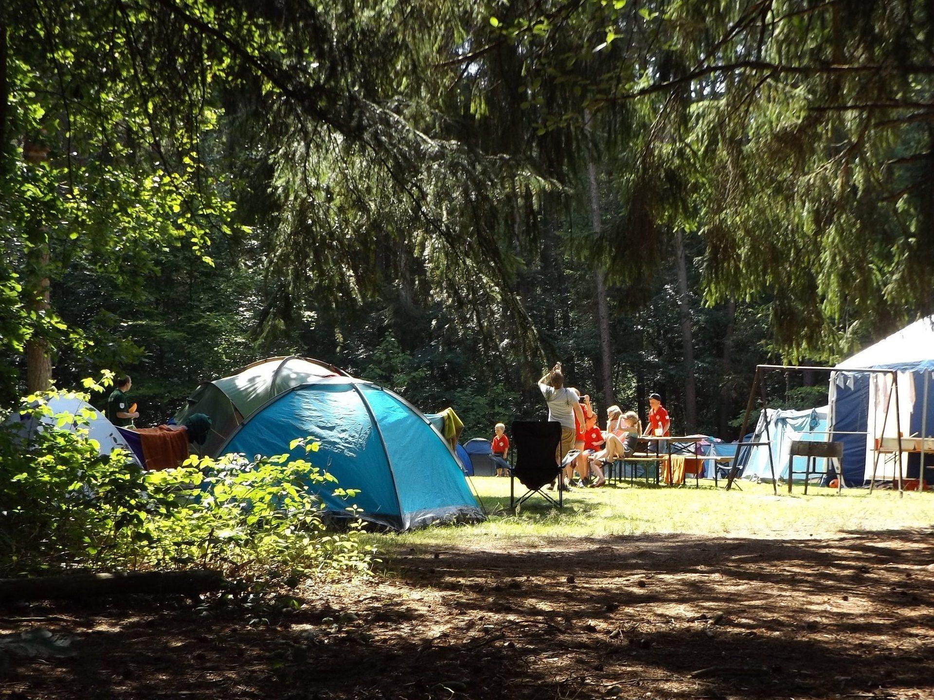 tent - overnachten - camping
