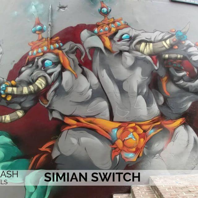 Straatkunst - Mural - Dordrecht