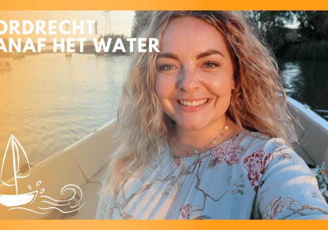 Dordrecht vanaf het water - Dordt vlogt