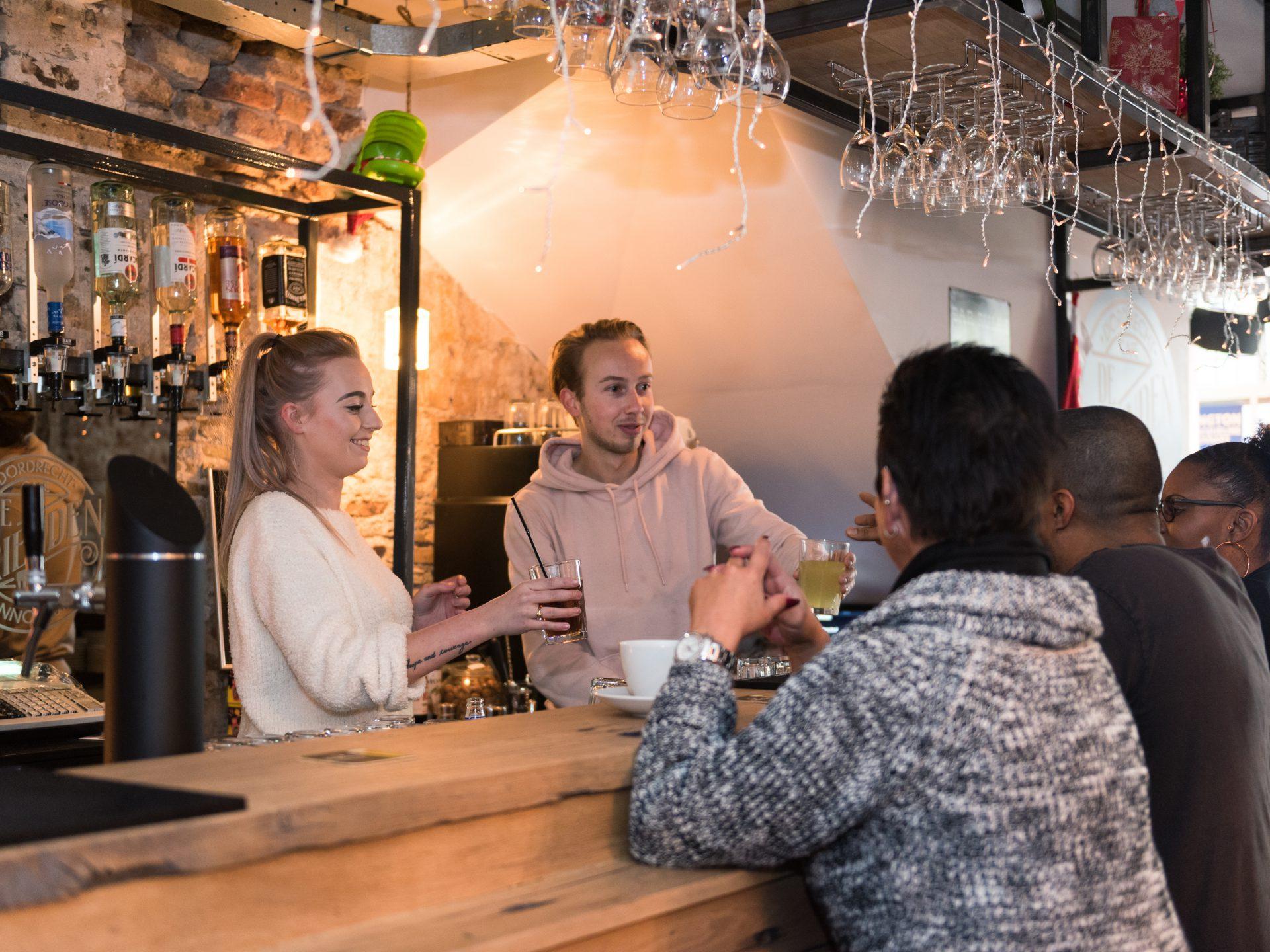 Café de Vrienden uitgaan Dordrecht