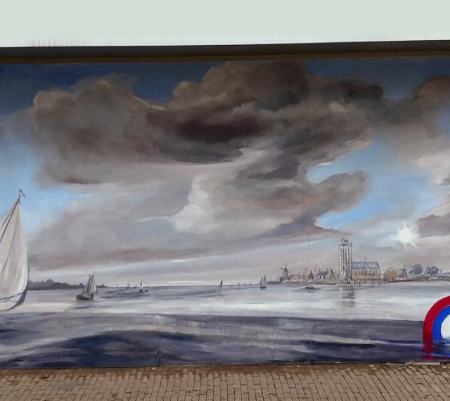 Straatkunst - Mural -Dordrecht