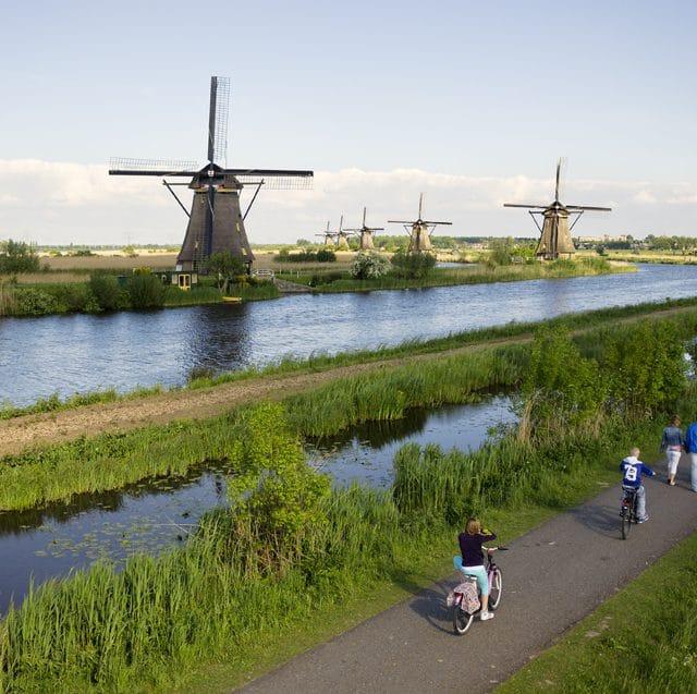 Werelderfgoed Kinderdijk - molens regio