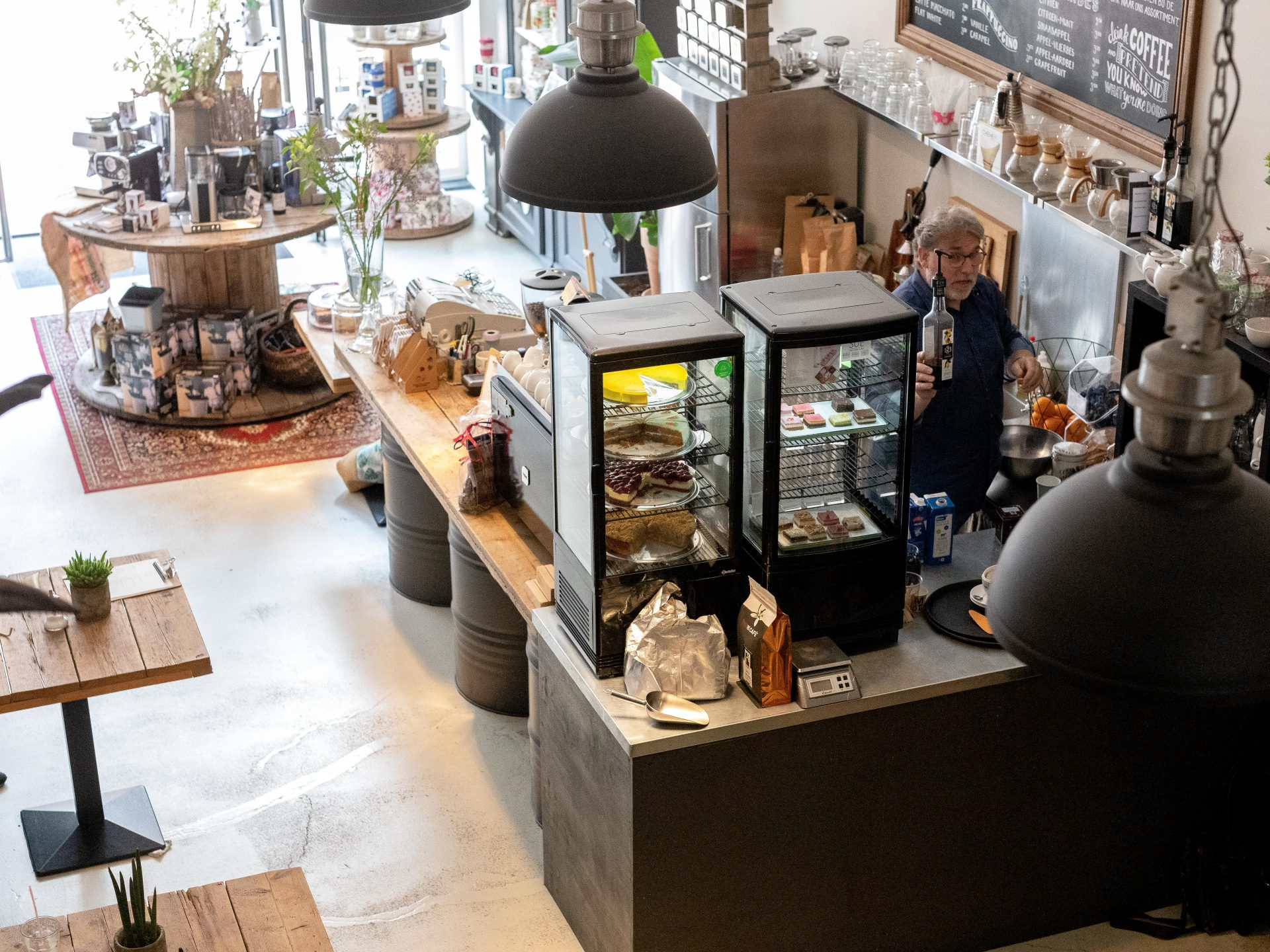 Koffiebar - In Dordrecht