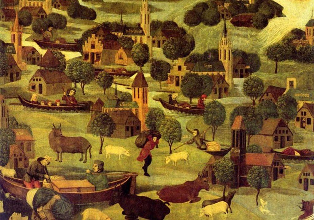 Sint_Elisabethsvloed_1421 - Dordrecht