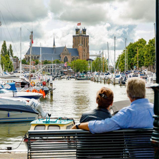 Bezoek Dordrecht - Nieuwe Haven -Grote Kerk