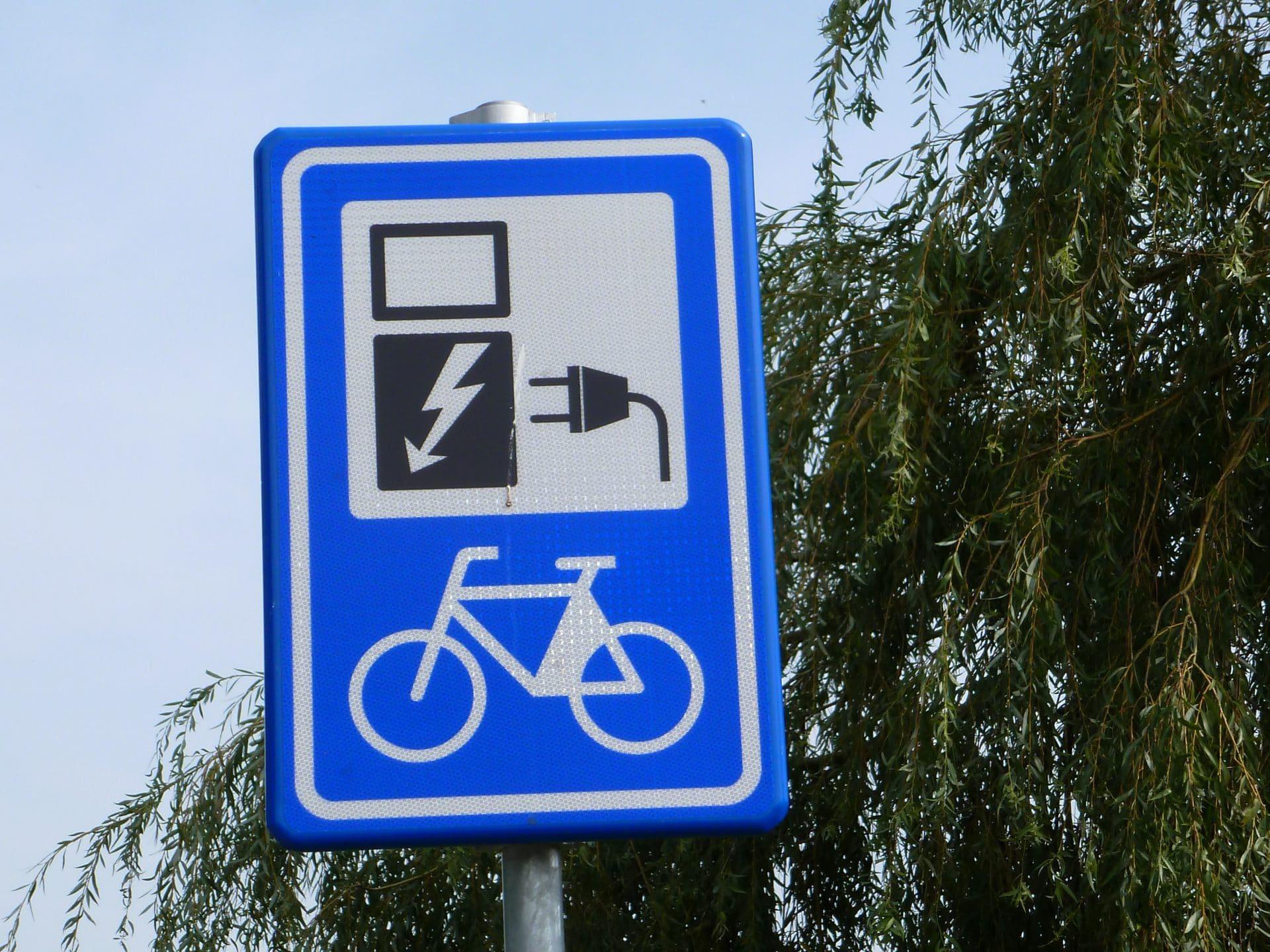 e-bike opladen - elektrische fiets