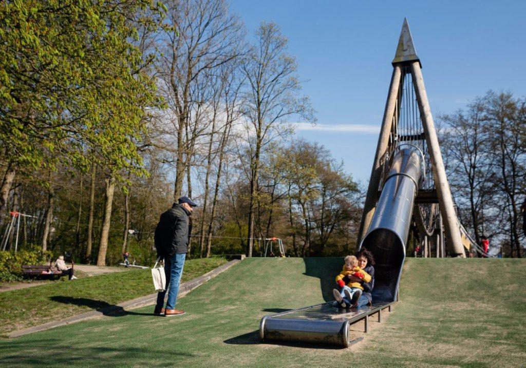 Weizigtpark speeltuin park Dordrecht