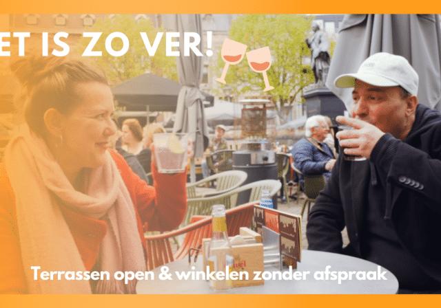 Terrassen en winkels weer open | Dordt Vlogt