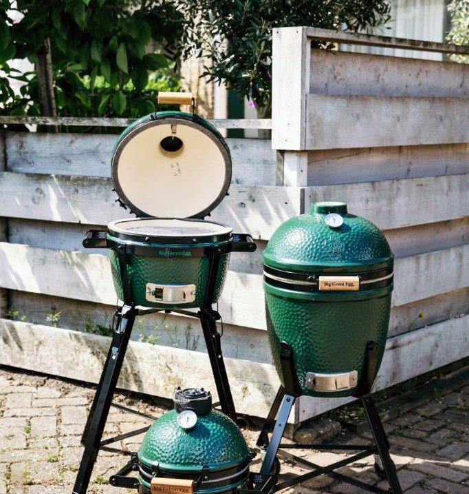 VD Merwe Barbeque BBQ Green EGG Dordrecht