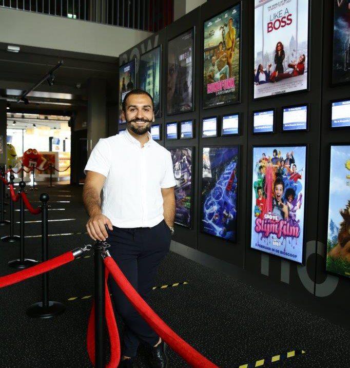 Bioscoop Kinepolis Dordrecht Theatre Manager Schoeib Gholami