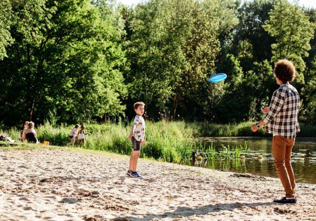 Strandje Merwelanden Biesbosch Dordrecht (1)