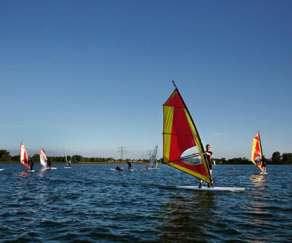 Windsurfen Spaarbekken Dordrecht (4)