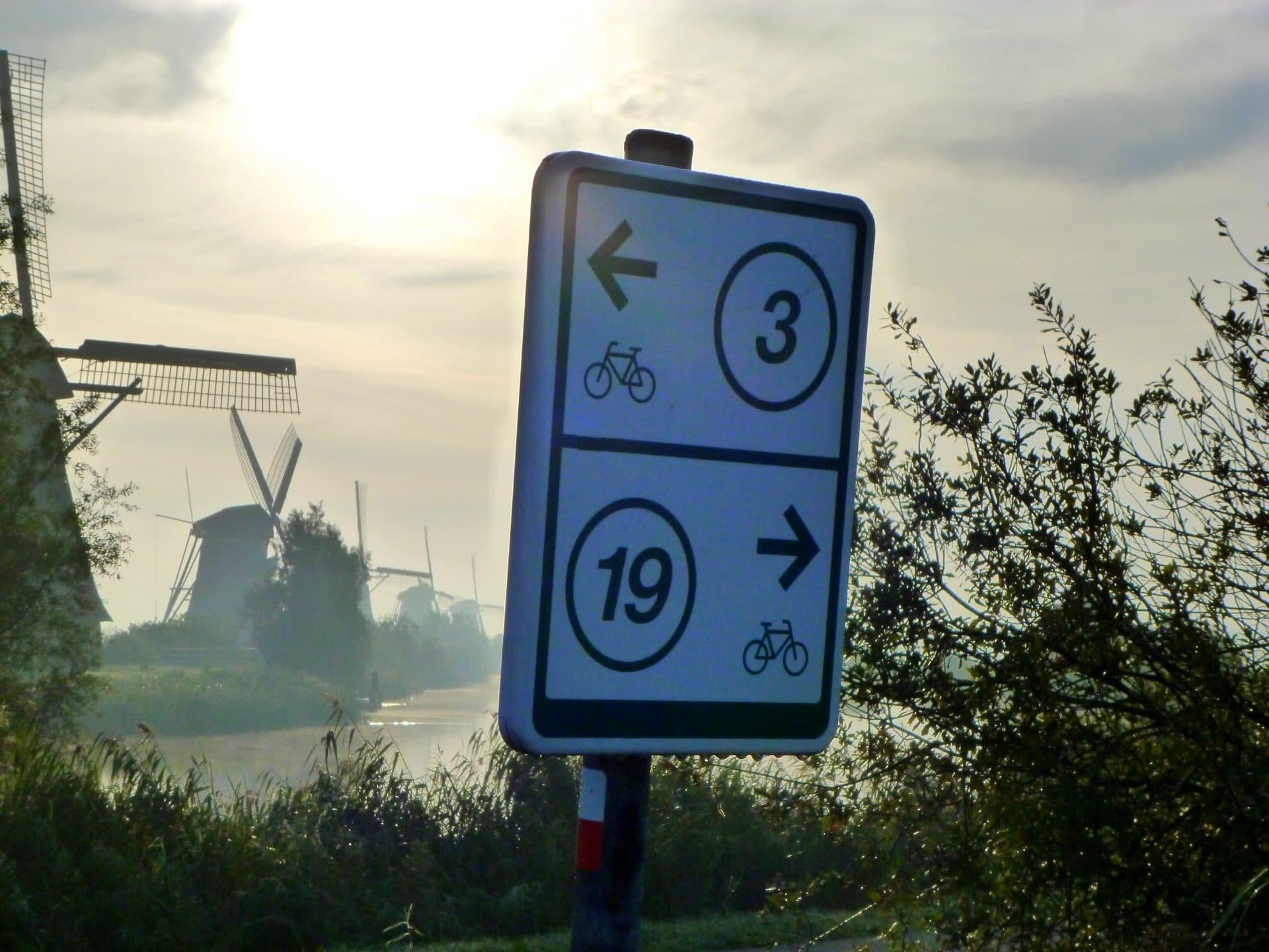 Fietsen - Dordrecht - knooppunten